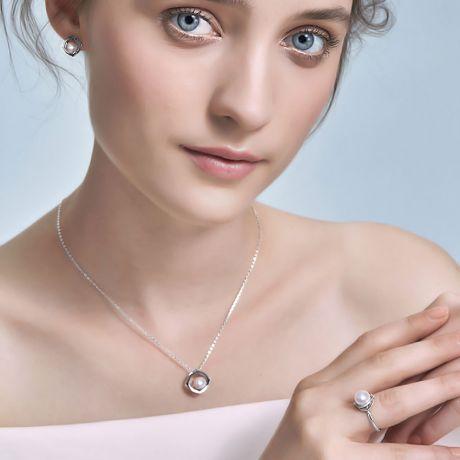 Pendentif perle de culture - Perle Japon Akoya - Coco Chanel