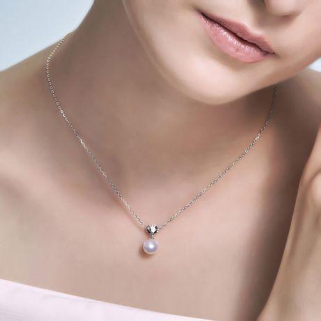 Pendentif perle de culture - Perle Akoya Japon - Sarah Bernhardt