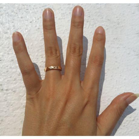 Fede Uomo - Oro giallo 3.81gr - Diamante 0.026ct