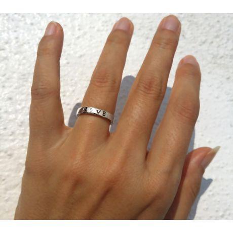 Fede Donna - Oro bianco 2.50gr - Diamante 0.017ct