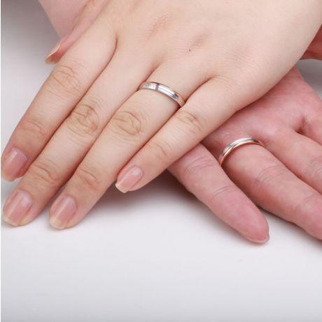 Bijoux alliances mariage - Alliances couple - 2 Ors  - Diamant
