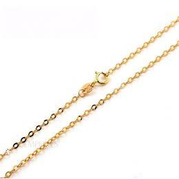 Catenina Maglia Forzatina oro giallo 18kt | 45cm