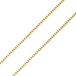 Chaîne vénitienne. Or jaune 40cm