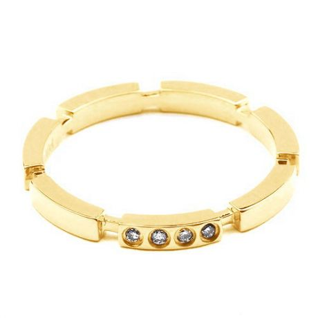 Alliance Anneau de Mariage - Alliance Femme Or Jaune et Diamants   Gemperles
