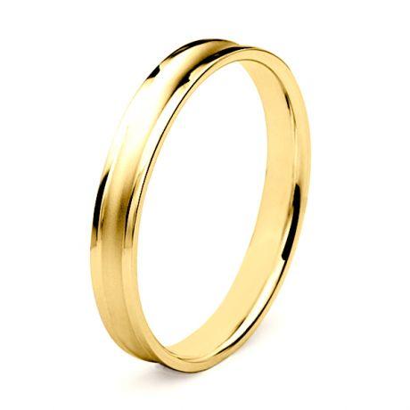 Fede Uomo - Oro giallo 3.90gr