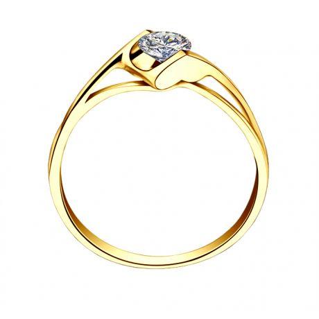 Solitaire Diamant 0.20 Carat - Victor Hugo, A Jeanne Or Jaune | Gemperles