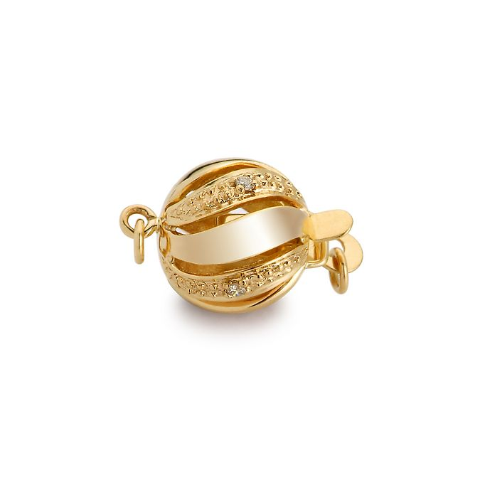 Melograna : Fermoir de prestige en Or jaune 18 carats & Diamants
